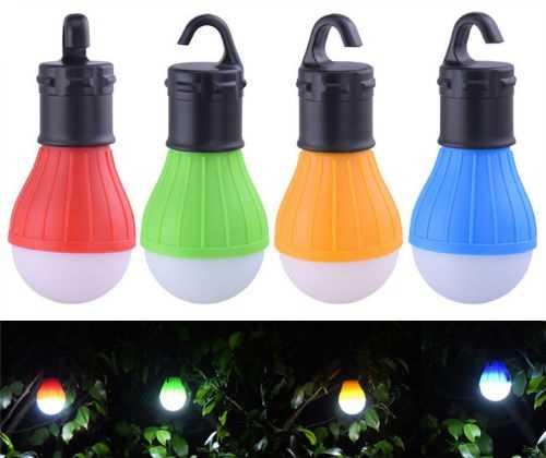 Портативные LED-светильники в виде лампочки