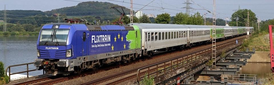 Поезд FlixTrain